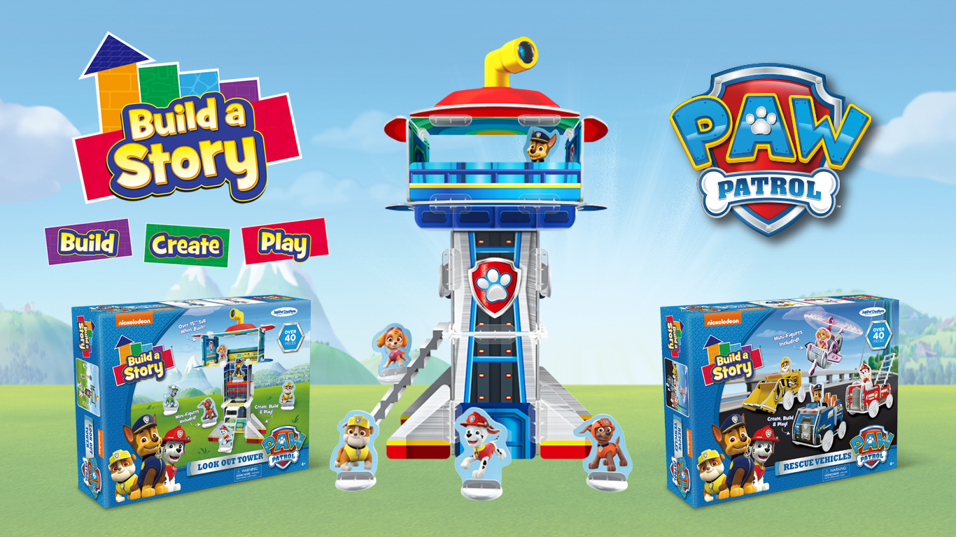 Paw Patrol Build A Story