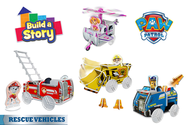 Paw Patrol Rescue Vehicles