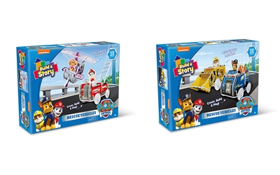 Paw Patrol Rescue Vehicles 2 Assorted